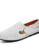 halpa Miesten poolopaidat-Miesten kengät Nappanahka Kevät / Kesä / Syksy Comfort / Sukelluskengät Mokkasiinit Kävely Keltainen / Ruskea / Sininen / Comfort-huopa