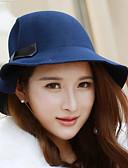 cheap Women's Belt-Women's Cashmere Bucket Hat - Solid Colored