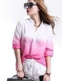 povoljno Bluza-Bluza Žene Dnevno Kolaž V izrez / Proljeće