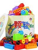baratos Vestidos de Mulher-Blocos de Construir Blocos Lógicos Brinquedo Educativo 1pcs Quadrada Circular Forma Cilindrica Faça Você Mesmo Brinquedos Dom