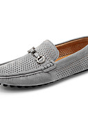 cheap Mechanical Watches-Men's Driving Shoes Pigskin Summer / Fall Casual / Comfort Loafers & Slip-Ons Gray / Blue / Khaki