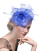 cheap Fashion Hats-Women's Hat Rhinestone Hair Clip