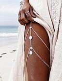 ieftine Leggings-Lănțișor Picior Αριθμοί Boem Pentru femei Auriu / Argintiu Bijuterii de corp Pentru Casual / Sport