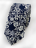 cheap Men's Ties & Bow Ties-Men's Party / Work / Basic Necktie - Jacquard