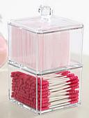 رخيصةأون ساعات الفساتين-بلاستيك بيضوي للسفر الصفحة الرئيسية منظمة, 1PC منظمو سطح المكتب تخزين الماكياج صندوق المجوهرات منظمو المجوهرات منظمو خزانة منظمو المضمد