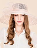 ieftine Bolerouri de Nuntă-Pană Tul Diadema-Nuntă Ocazie specială Informal Pălărioare Pălării/Căciuli 1 Bucată