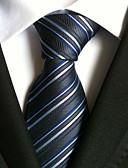 abordables Corbatas y Pajaritas para Hombre-Hombre Corbata - Fiesta Trabajo Rayas A Rayas
