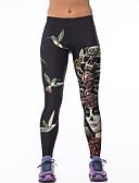 voordelige Damesleggings-Dames Dagelijks Standaard Legging - dier, Print Medium Taille