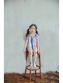 preiswerte Mode für Mädchen-Mädchen Bluse Streifen Baumwolle Sommer Ärmellos Rote