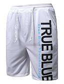זול תחתוני גברים אקזוטיים-בגדי ריקוד גברים פעיל משוחרר / שורטים מכנסיים אותיות