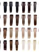 ieftine Corsete & Bustiere-Coadă de cal Păr Sintetic Fir de păr Extensie de păr Drept