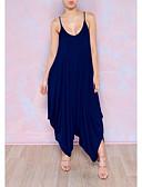 povoljno Ženski jednodijelni kostimi-Žene Jumpsuits Moda V izrez