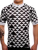baratos Vestidos de Mulher-SUREA Homens Manga Curta Camisa para Ciclismo Moto Camisa / Roupas Para Esporte, Secagem Rápida, Respirável, Redutor de Suor Coolmax® /