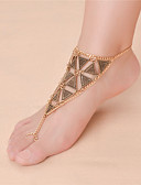 cheap Women's Belt-Geometric Barefoot Sandals - Infinity Vintage, Fashion Gold / Silver For Daily Casual Women's