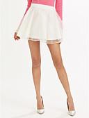 preiswerte Hosen & Röcke für Damen-Damen Klassisch & Zeitlos A-Linie Röcke - Solide