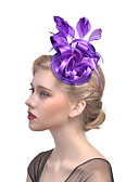 cheap Mother of the Bride Dresses-Tulle Fascinators / Hair Clip with Feather 1 Event / Party Headpiece