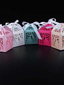 billige Gaveæsker-Kasse Perle-papir Gave Til Gæster Holder med Bånd Yndlingsæsker