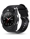 olcso Sportos óra-Intelligens Watch V8 mert Android Elégetett kalória / Hosszú készenléti idő / Kéz nélküli hívások / Érintőképernyő / Fényképezőgép Dugók & Töltők / Hívás emlékeztető / Testmozgásfigyelő / Alvás