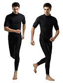 hesapli Cep Telefonu Kılıfları-SBART Erkek Elastane Yarım Kol Yüzme Dalış Sörf Desen Tüm Mevsimler / Yüksek Elastikiyet