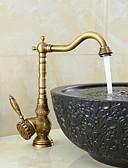 cheap Women's Dresses-Bathroom Sink Faucet - Swivel Bronze Centerset One Hole