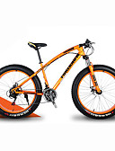 ieftine Rochii de Mireasă-Bicicletă montană / Bicicletă de Zăpadă Ciclism 21 Speed 26 inch / 700CC 40 mm SHIMANO 30 Frâne Disc Ulei Furcă Springer Aliaj din aluminiu