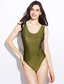 cheap Women's Lingerie-Women's One-piece - Solid Colored, Classic Style