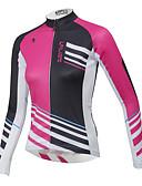 お買い得  レディーストップス-ILPALADINO 男性用 / 女性用 長袖 サイクリングジャージー バイク 速乾性, 人間工学デザイン, 高通気性