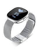 preiswerte Sportuhr-Herrn Smartwatch / Armbanduhr Schlussverkauf Legierung Band Charme / Modisch Schwarz / Silber / Gold