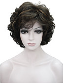 cheap Women's Bottoms-Synthetic Wig Wavy Synthetic Hair Brown Wig Women's Short Capless