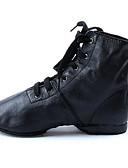 abordables Blazers y Chaquetas de Mujer-Mujer Zapatos de Jazz Semicuero / Cuero Plano / Tacones Alto Tacón Plano Personalizables Zapatos de baile Negro / Entrenamiento