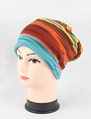 halpa Hatut-Naisten Päähine Sievä Tyylikästä ja modernia Knitwear Pipo Naisten lierihattu Raita Painettu Puuvilla