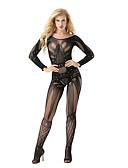 baratos Camisolas e Pijamas Femininos-Mulheres Sexy Super Sensual Roupa de Noite Padrão