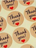 voordelige Stickers, labels & tags-Strand Thema Tuin Thema Eten&Drinken Aziatisch Thema Vlinder Thema Vakantie Klassiek Thema Sprookjes Thema Kraamvisite Mode rustieke