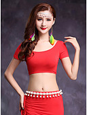 cheap Leggings-Belly Dance Tops Women's Training Modal Short Sleeve Top