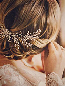 cheap Wedding Veils-Imitation Pearl Hair Combs / Hair Tool with 1 Wedding / Special Occasion / Birthday Headpiece