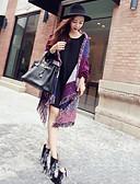 cheap Fashion Scarves-Women's Cotton Rectangle - Check