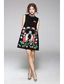cheap Cocktail Dresses-JOJO HANS Women's Classic & Timeless Sheath Dress - Solid Colored, Print