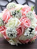 tanie Halki ślubne-Sztuczne Kwiaty 1 Gałąź Fason europejski Rośliny Bukiety na stół