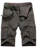 ieftine Pantaloni Bărbați si Pantaloni Scurți-Bărbați Activ Mărime Plus Size Bumbac Larg / Pantaloni Chinos Pantaloni Mată