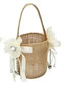 "cheap Men's Ties & Bow Ties-Flower Basket Linen 9 7/8"" (25 cm) Lace Flower 1"