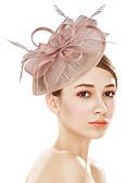 זול חולצה-פלסטי מפגשים / פרחים / ביגוד לראש עם פרחוני 1pc חתונה / אירוע מיוחד / מסיבה\אירוע ערב כיסוי ראש