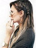 cheap Men's Swimwear-Wig Accessories Metal Braiding Beads Daily Classic Silver Golden
