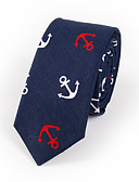 cheap Men's Ties & Bow Ties-Men's Cotton Rayon Polyester Necktie Print