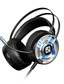 cheap Men's Hoodies & Sweatshirts-AJAZZ AX360 Headband Wired Headphones Dynamic Stainless Steel / Plastic Gaming Earphone with Volume Control / with Microphone /