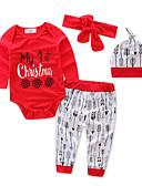 preiswerte Kleidersets für Mädchen-Mädchen Kleidungs Set Geometrisch Baumwolle Polyester Herbst Ganzjährig Langarm Blumig Zum Kleid Rote