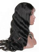 cheap Fashion Hats-Human Hair Lace Front Wig Brazilian Hair Body Wave Wig With Baby Hair 130% Natural Hairline Women's Short / Medium Length / Long Human Hair Lace Wig