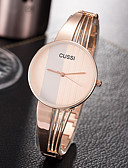 cheap Quartz Watches-Women's Wrist Watch Creative / Casual Watch / Cool Alloy Band Charm / Luxury / Casual Silver / Rose Gold / One Year / SSUO 377