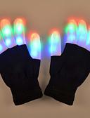 cheap Women's Sweaters-1 Pair LED Finger Light RGB Battery Decorative