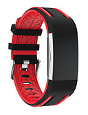 cheap Sport Watches-Watch Band for Fitbit Charge 2 Fitbit Sport Band Modern Buckle Silicone Wrist Strap