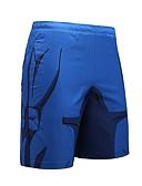 cheap Men's Pants & Shorts-Men's Active / Street chic / Punk & Gothic Loose / Shorts Pants - Abstract Print / Sports